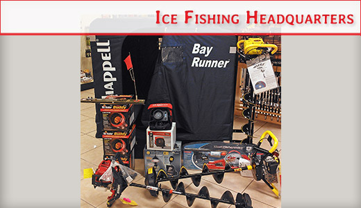 Ice Fishing Supplies in Door County